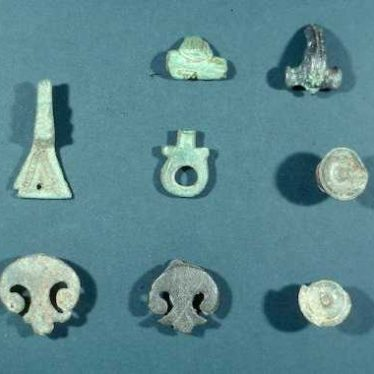 Roman brooches from Welford Roman Villa | Warwickshire County Council