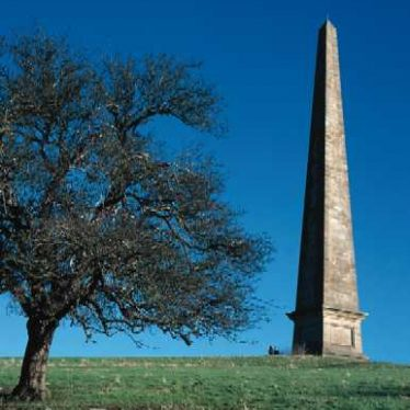 Obelisk at Welcombe Bank,