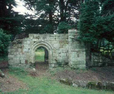 Some of the remains of Wroxall Priory | Warwickshire County Council