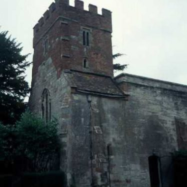 Remains of Wroxall Priory Church