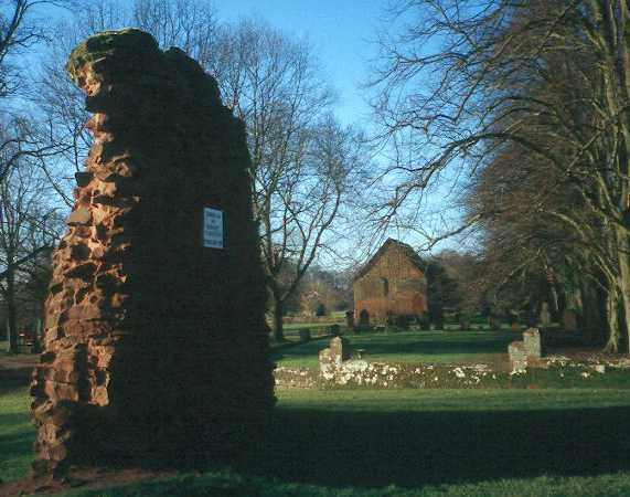 The ruins of the medieval church of Kenilworth Abbey | Warwickshire County Council