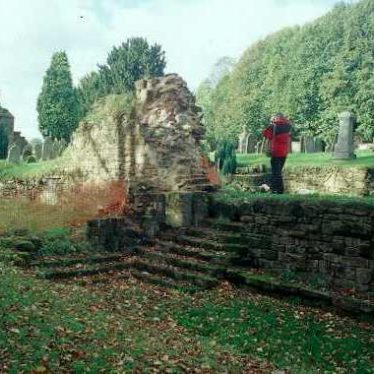 Site of Kenilworth Abbey Chapter House and Cloister