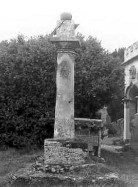 Churchyard Cross at Coughton Church