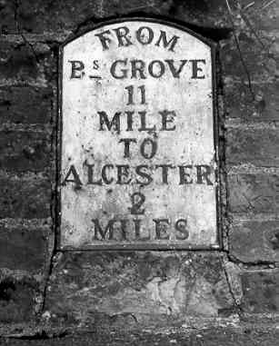 Milestone in Coughton | Warwickshire County Council