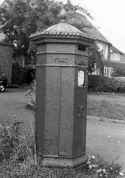 Imperial letter box, Sambourne