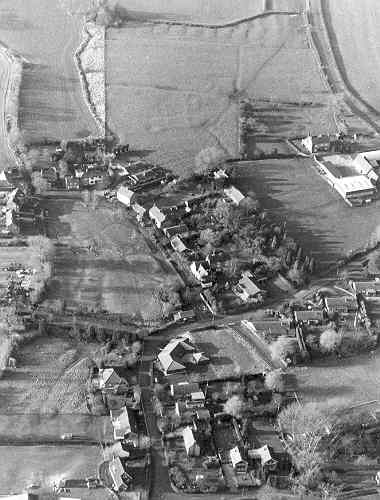 Earthworks reveal the shrunken village at Broadwell near Leamington Hastings | Warwickshire County Council