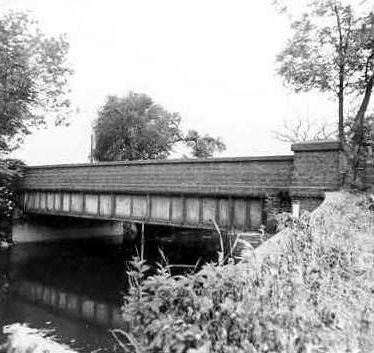 Site of Lea Bridge, Lea Marston