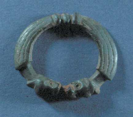 An Anglo Saxon brooch which was found in Great Wolford parish | Warwickshire County Council