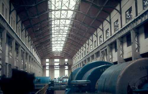 Interior view of Hams Hall Power Station, Lea Marston | Warwickshire County Council