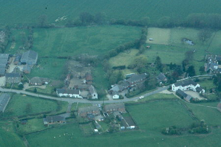 Earthworks revealing the possible extent of Medieval settlement at Wibtoft   Warwickshire County Council