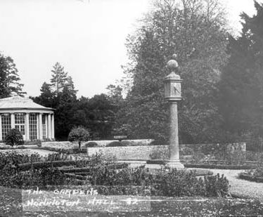 Honington Hall gardens (19th century)