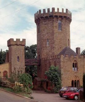 Edge Hill Tower, now known as the Castle Inn at Radway | Warwickshire County Council