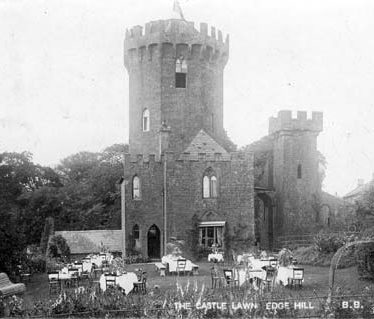 A view of The Castle at Edgehill | Warwickshire County Council