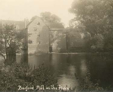 Site of Barford Mill