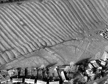 The possible shrunken village, with ridge and furrow earthworks, at Priors Marston | Warwickshire County Council