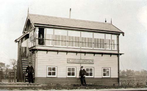 Willoughby railway signal box | Warwickshire County Council