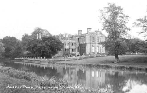A view of Alscot Park House, Preston on Stour | Warwickshire County Council