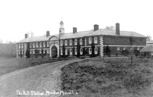 A view of the stables at Moreton Hall, Moreton Morrell | Warwickshire County Council