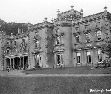 A view of Shuckburgh House | Warwickshire County Council
