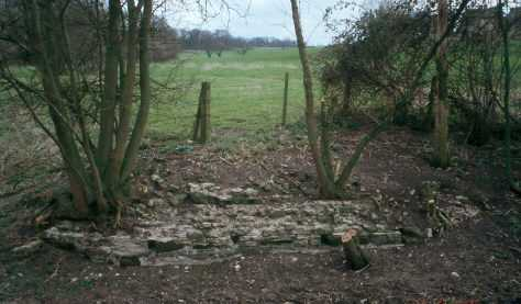 The remains of a moat near Chesterton | Warwickshire County Council