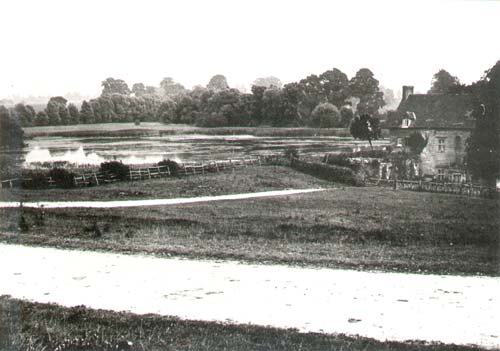A view of the watermill and mill pond at Chesterton | Warwickshire County Council