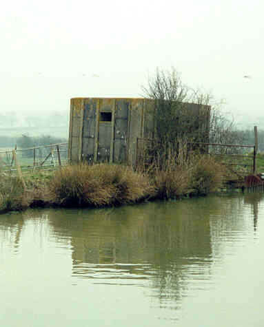 A Second World War pillbox on the Oxford Canal, east of Napton Holt | Warwickshire County Council