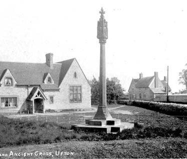 Cross in Ufton Churchyard