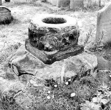 Cross in Churchyard of Church of St Leonard