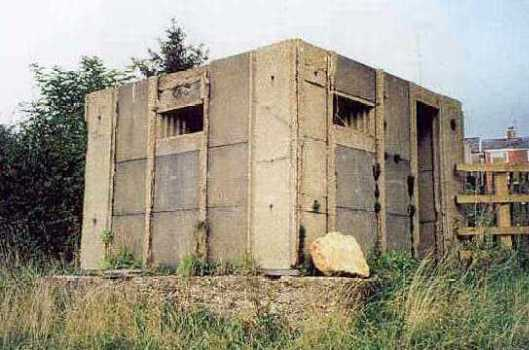 A Second World War pillbox at Clifton on Dunsmore | A Armishaw