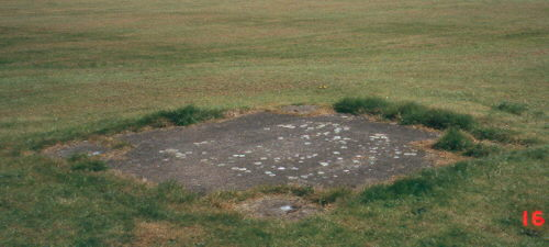 The site of a Second World War Bofors gun emplacement in Rugby | Warwickshire County Council