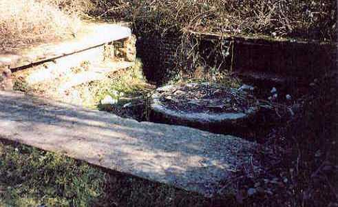 A Second World War Bofors gun emplacement near Rugby Cement Works | A Armishaw