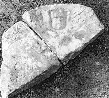 Fragment of Sarah Gibb's gravestone dated 1756, St Gregory's Graveyard, Tredington | Warwickshire County Council