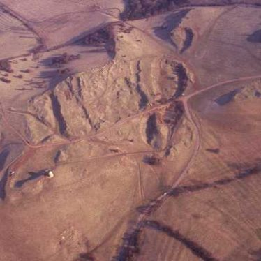 Evidence of ironstone quarrying visible as earthworks at Burton Dassett | Warwickshire County Council