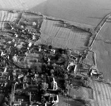 The extent of the Medieval settlement at Leamington Hastings | Warwickshire County Council