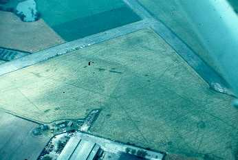 Grass runway at RAF Church Lawford near Rugby | Warwickshire County Council