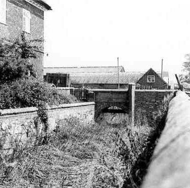 Moat at Shustoke Hall