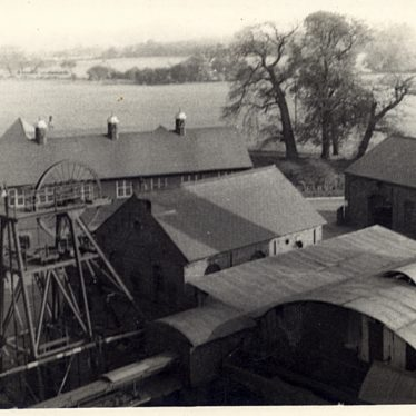 Ansley Colliery, c. 1950s. | Image courtesy of Nuneaton Memories / Nuneaton News