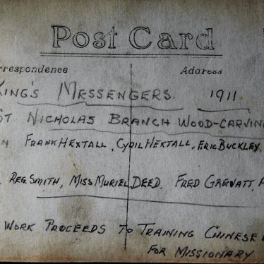 King's Messengers, 1911. | Image courtesy of Nuneaton Memories and Walter Gibson