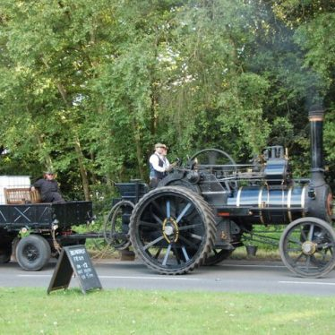 Fillongley. Local Steam Traction Engine