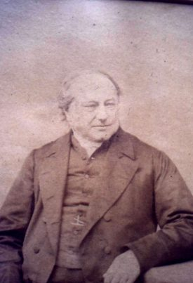 Canon Robert Savage.   Image supplied by David Paterson