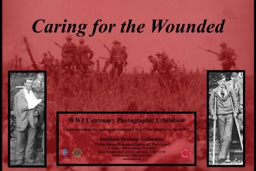 Caring for the Wounded: WW1 Centenary Photographic Exhibition