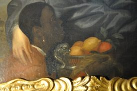 Detail of painting. | Image courtesy of Warwick Castle