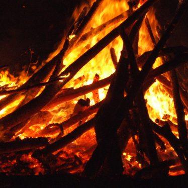 A Memoir of Childhood in Hampton on the Hill: Bonfire Night