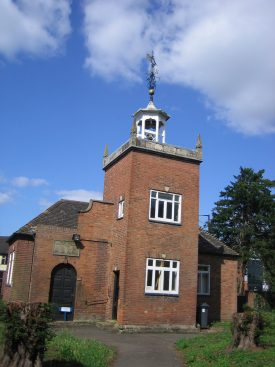 Nuneaton's Old Grammar School of 1696, photographed in 2009.   Image courtesy of Marie Paterson