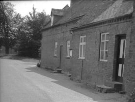 Once(?) the RC School and mens club, Hampton on the Hill, 1967. | Warwickshire County Record Office reference PH212/25/5. Part of a photographic survey of Warwickshire parishes conducted by the Women's Institute.
