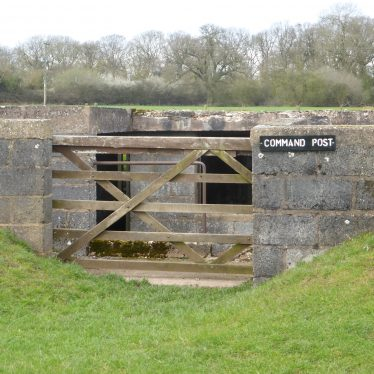 Command Post (entrance), Goodrest Farm.   Image courtesy of the Friends of the Anti-Aircraft Battery at Goodrest Farm (FAAB@GRF)