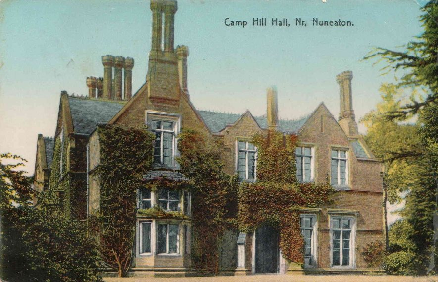 Camp Hill Hall - Our Warwickshire Camp Hill Map on