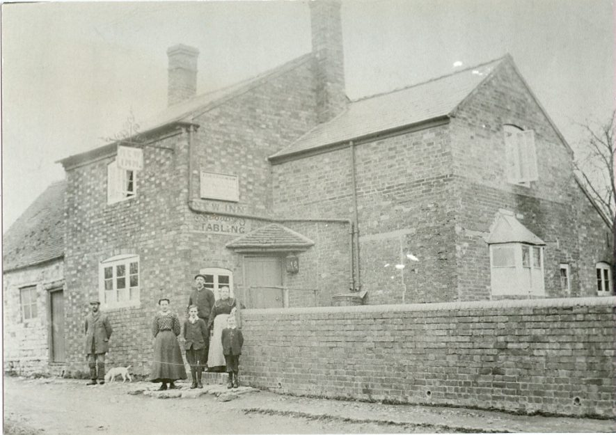 The New Inn, High Street, Bishops Itchington.   Image courtesy of Bill Sutton