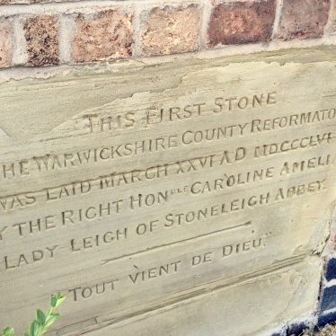 County Reformatory Stone, Weston under Wetherley. | Image courtesy of Jane Jones
