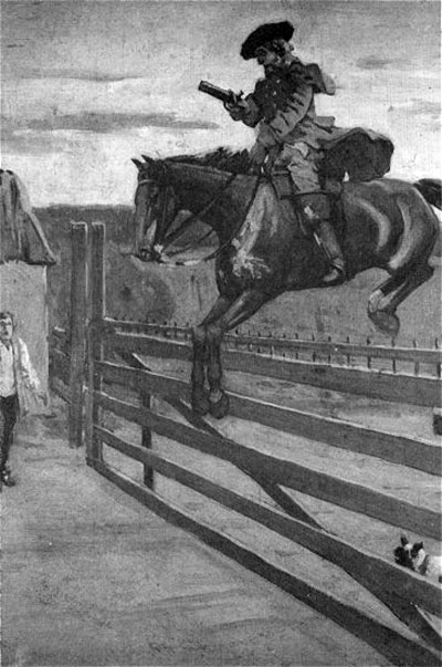 Illustration of Dick Turpin from a 19th century novel. | Image by George Cruikshank from William Harrison Ainsworth's 'Rookwood'. originally uploaded to Wikipedia.